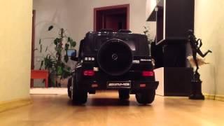 Детский электромобиль Joy Automatic Mercedes Benz G55 AMG(Вы можете купить детский лицензионный электромобиль-джип Mercedes G55 Гелендваген 6V на нашем сайте, пройдя по..., 2015-10-22T11:50:33.000Z)