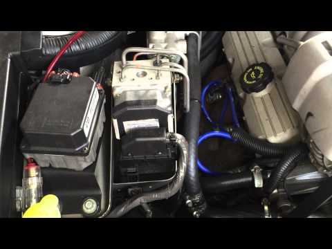 HOLDEN COMMODORE ABS  ALL DASHBOARD LIGHTS FAULT