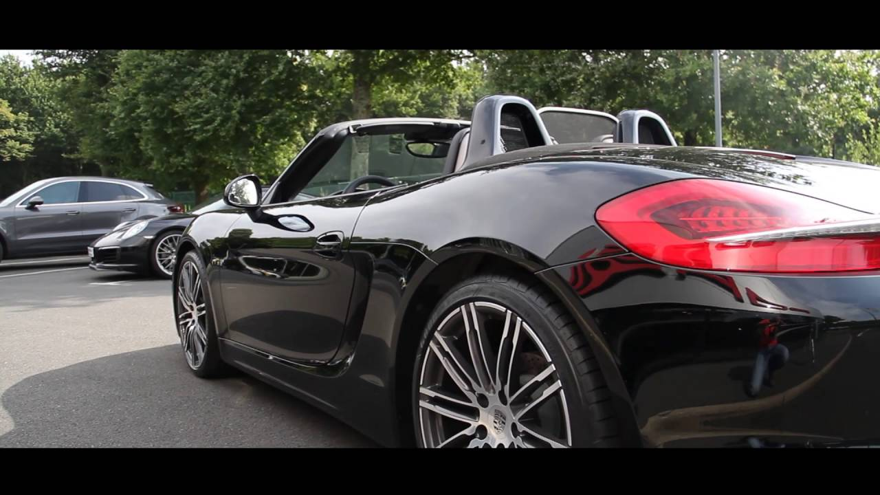 porsche boxster black edition s lection vn centres porsche nantes rennes youtube. Black Bedroom Furniture Sets. Home Design Ideas