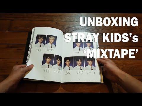 "UNBOXING STRAY KIDS's ""MIXTAPE"""