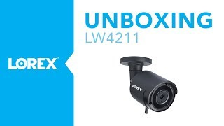 Unboxing the LW4211 Wireless MPX Security Camera