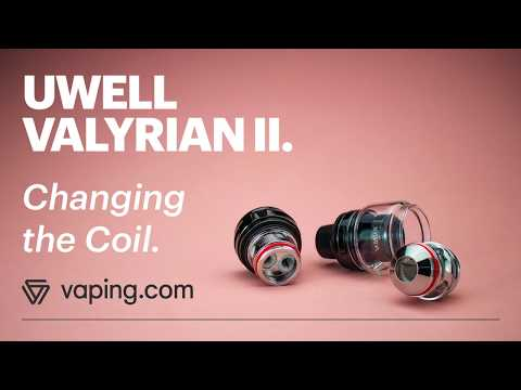 How to change coils on the UWell Valyrian 2 Tank