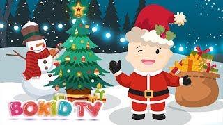 ♫ Jingle Bells - Christmas Songs | Bé Học Tiếng Anh | Nhạc Thiếu Nhi Tiếng Anh Vui Nhộn BoKidTV