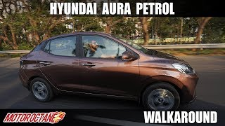 2020 Hyundai Aura 1.2 Petrol Review - Best Choice? | Hindi | MotorOctane