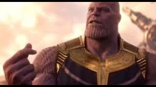 Thanos snaps his fingers and after credit scene of Avengers Infinity War!!