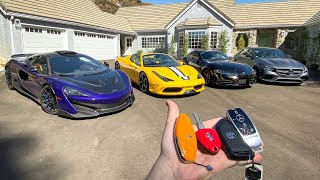 COMPLETE TOUR OF MY SUPERCAR COLLECTION!