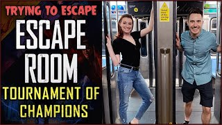 Real Life Escape Room for Tournament of Champions!
