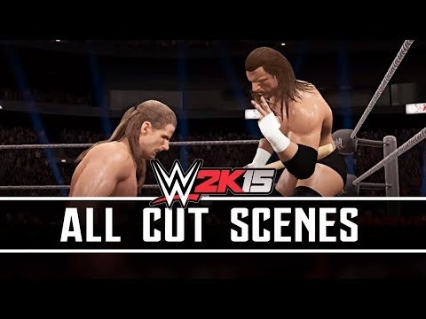 WWE 2K15 : Best Friends, Bitter Enemies : ALL CUT SCENES PS4/XBO