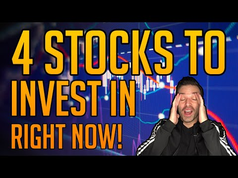 4 STOCKS TO BUY RIGHT NOW IN THE 2020 MARKET CRASH