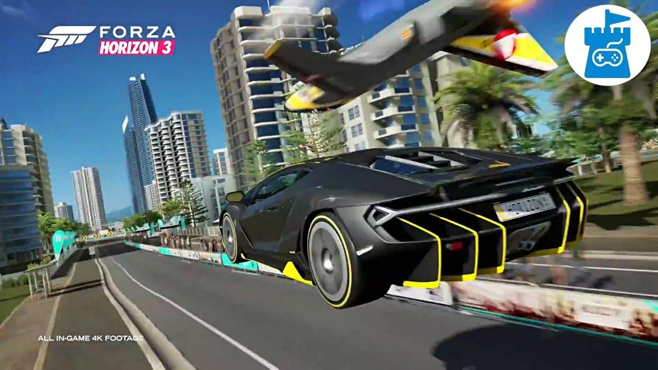forza horizon 3 Optimized for Xbox one x | Forza Horizon 3 4K Gampelay teaser trailer video