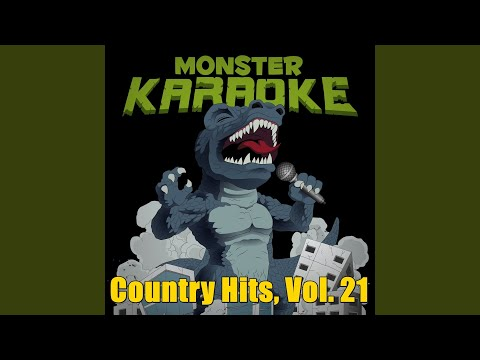 All I Want To Do (Originally Performed By Sugarland) (Karaoke Version)