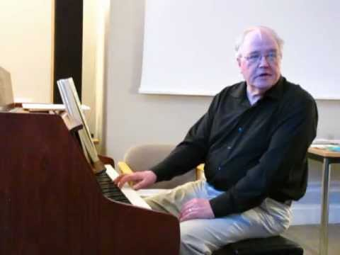 Extract from Dr Robert Blackburn's lecture recital on ...