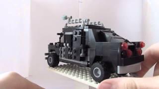 Lego army. Выпуск №2///Военный джип.