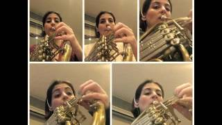 O Holy Night for French Horn, as performed by