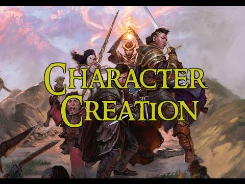 how to make 5e character