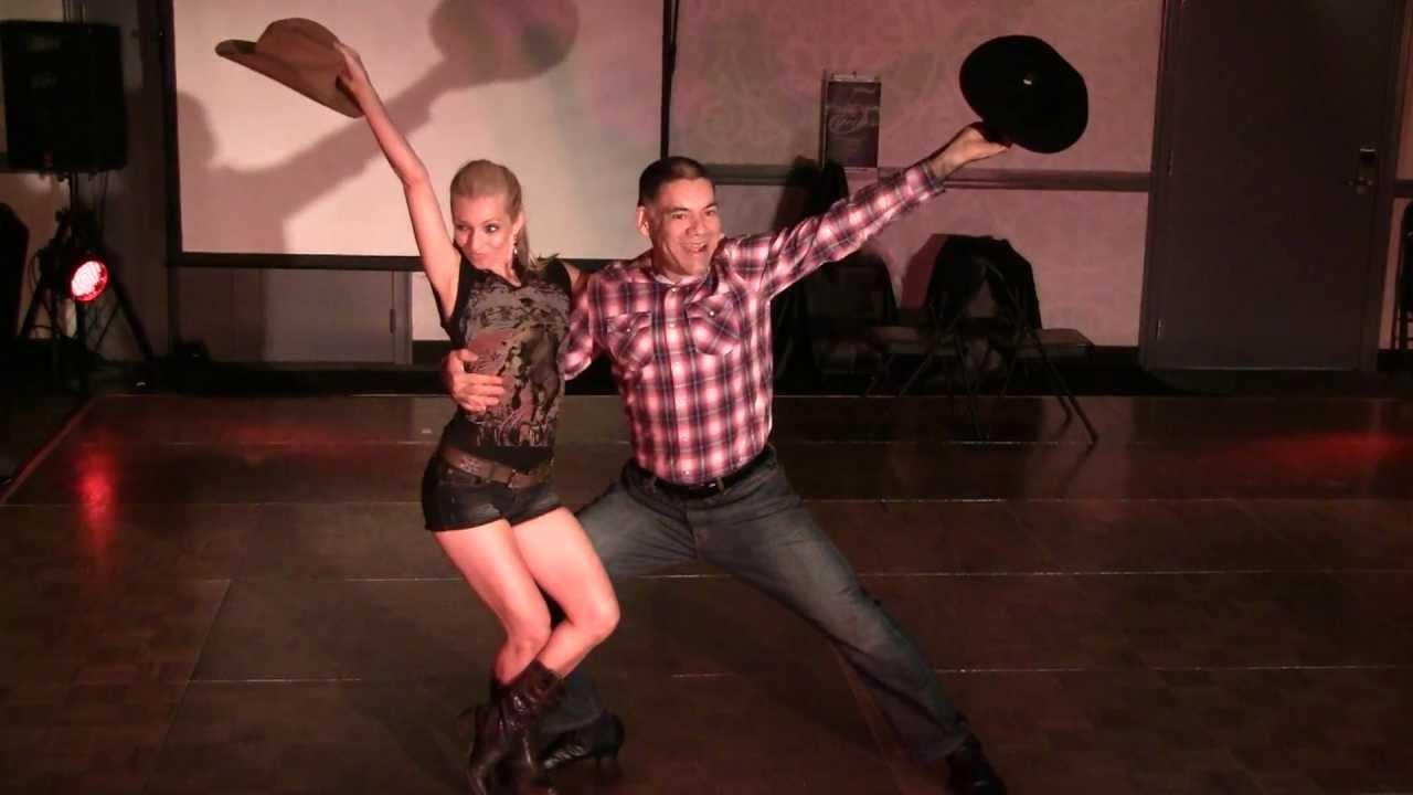 Cowboy And Cowgirl Dancing Jive YouTube