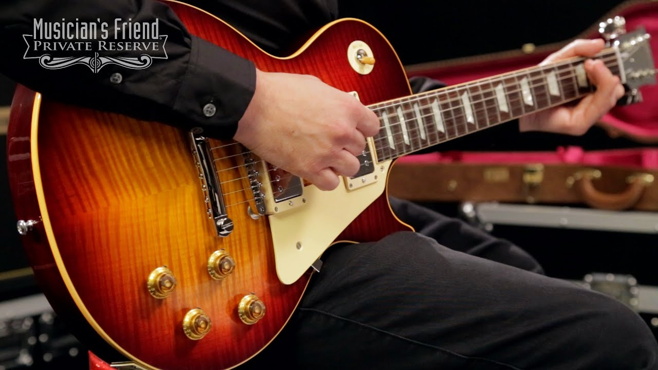Gibson Custom Les Paul \u002759 Historic Select Electric Guitar - YouTube