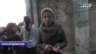 بالفيديو.. طلاب الشهادة الاعدادية بالدقهلية: 'امتحان الحاسب الآلي صعب'