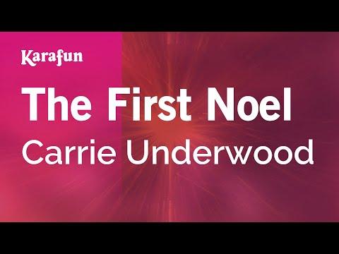Karaoke The First Noel - Carrie Underwood *