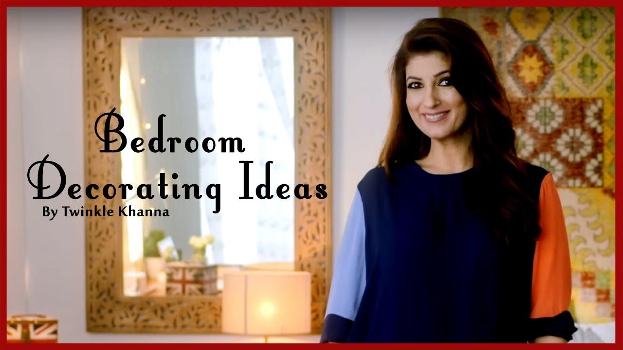Easy Bedroom Decorating Ideas | DIY Videos | Home Décor Tips | Twinkle  Khanna