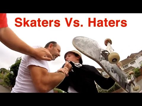 Skaters Vs. People 2018 (Scooters, Moms, Dads, Kids, Old People, Instant Karma, Bikers, Cars, Lady)