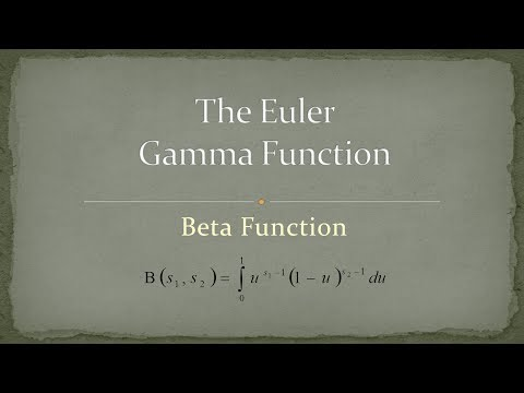 write the relationship between gamma function and beta