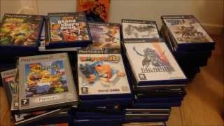 Ma collection de jeux playstation 2