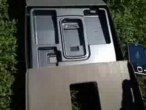 Nokia N96 unboxing