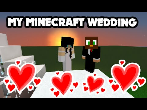 MY MINECRAFT WEDDING!