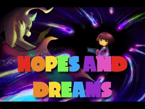 HOPES AND DREAMS - UNDERTALE THE MUSICAL IN ANIMAL JAM!