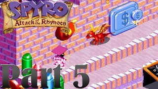 Spyro - Attack of the Rhynocs [Part 5] School of Theft! [HD]