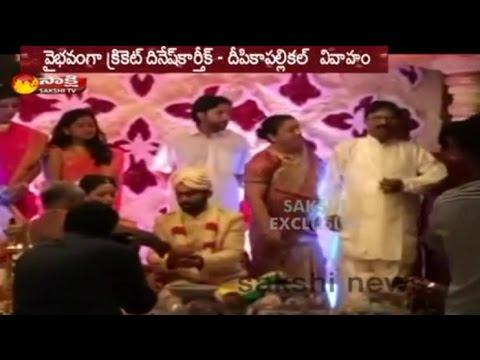 Dinesh Karthik and Dipika Pallikal Marriage in Hindu Style