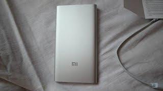 Обзор - Внешний аккумулятор Xiaomi Power Bank 5000 mAh Silver