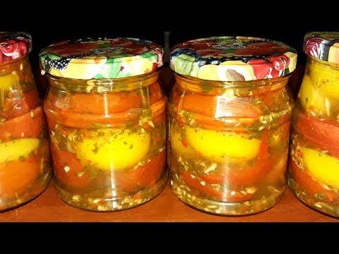 Помидоры с хреном и чесноком на зиму!!!Маринованные помидоры