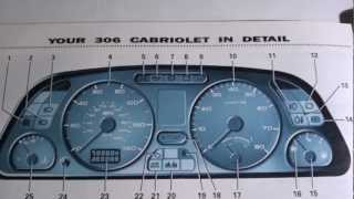 Peugeot Dashboard Warning Lights Symbols Error Lights