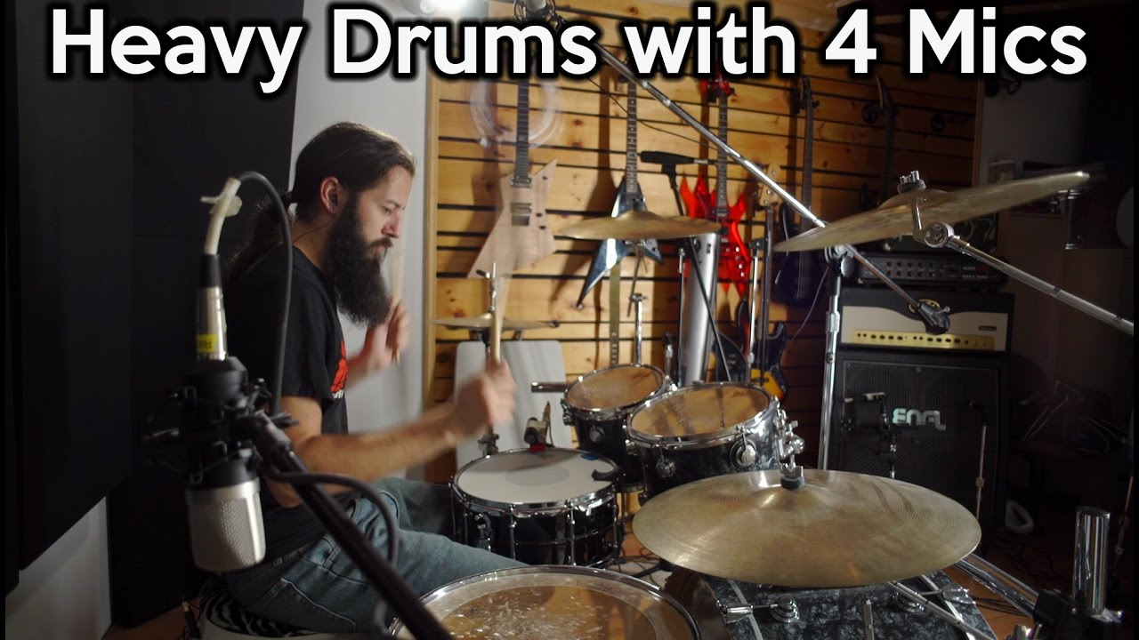 heavy drums with 4 mics the glyn johns technique spectresoundstudios tutorial