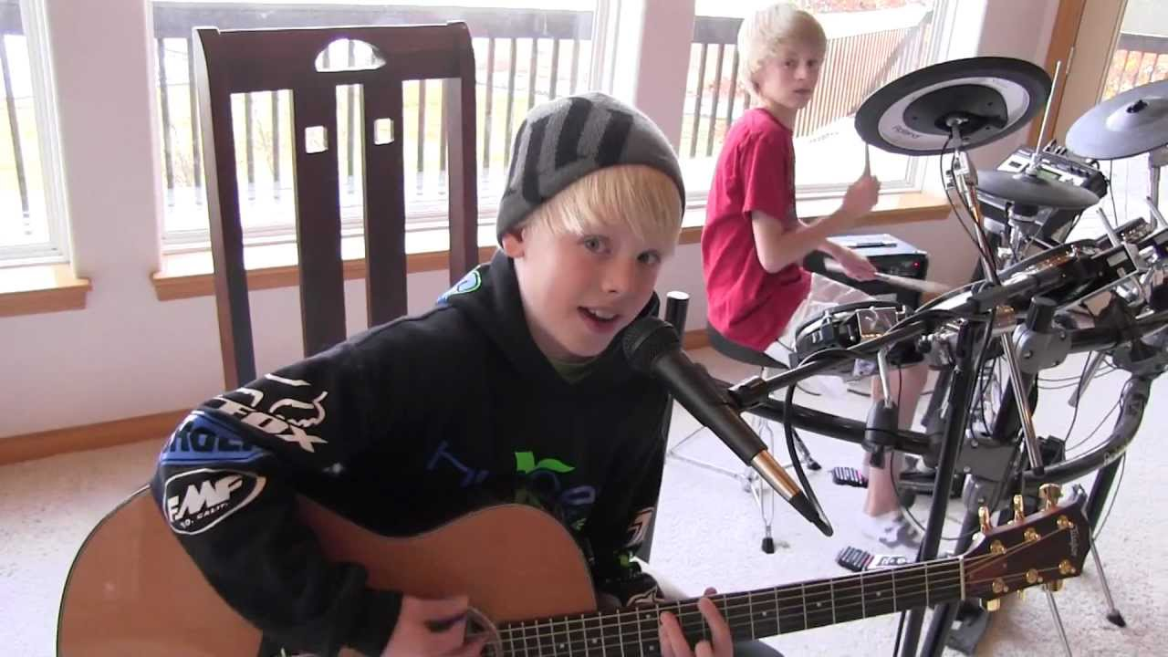 I Like It Like That — Hot Chelle Rae cover by 10 yr old Carson Lueders