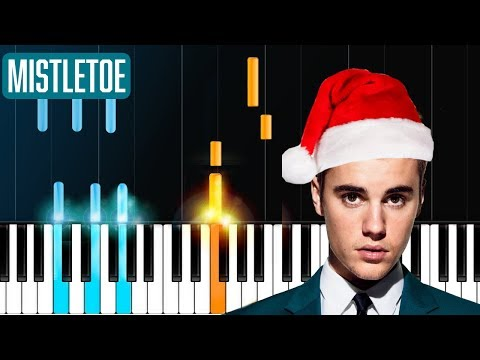"Justin Bieber - ""Mistletoe"" Piano Tutorial - Chords - How To Play - Cover"