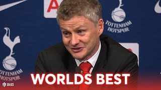 De Gea: 'BEST KEEPER IN WORLD!' Solskjaer Press Conference Tottenham 0-1 Manchester United