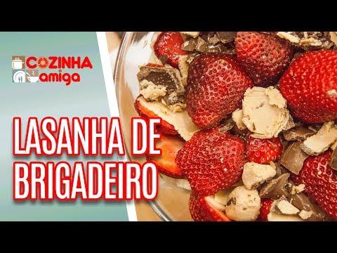 Brigadeiros explosivos e Lasanha de Brigadeiros - Dalva Zanforlin | Cozinha Amiga (DD/MM/AA)