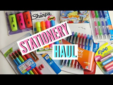 Back to School Stationery Haul | Jess Louise ♡