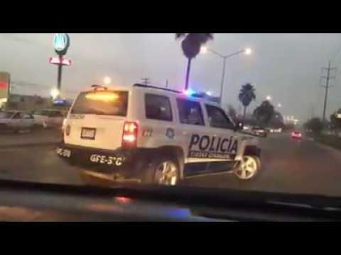 policia de guadalupe ataca a ciudadano