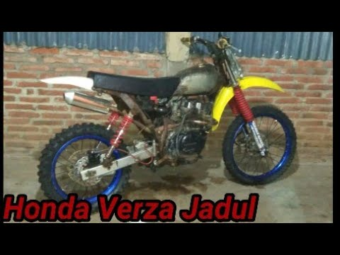 Modifikasi Honda Verza Model Trail Jadul