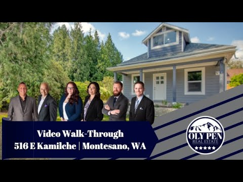 516 E Kamilche | Montesano, WA | Video Walk-Through