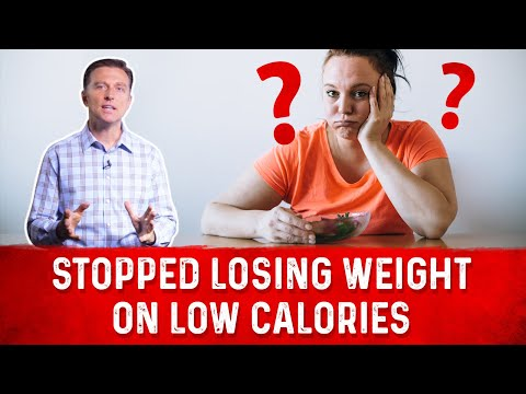 Stopped Losing Weight on a Low Calorie Diet?
