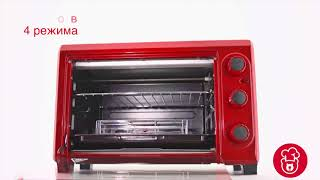 Обзор мини-духовки Oursson MO2610