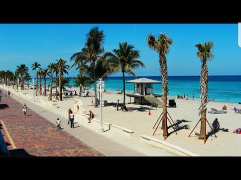 Awesome Beach & Boardwalk! (Hollywood Beach)
