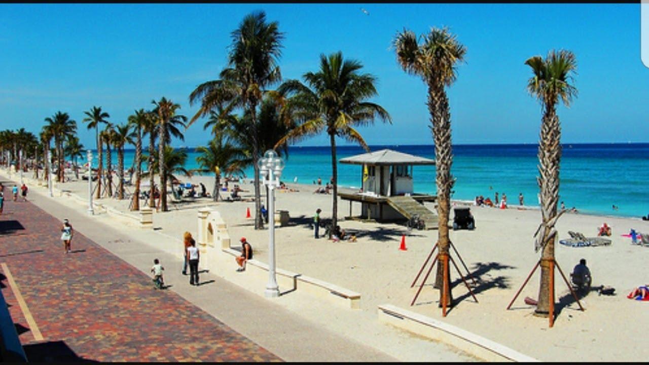 Awesome Beach Boardwalk Hollywood
