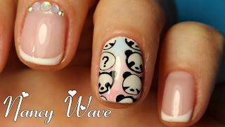 СТЕМПИНГ: Секреты и Лайфхаки   Френч и стразы на ногтях   Nancy Wave