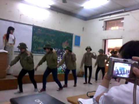 CĐSPHN - Phút SH truyền thống - Chiến sĩ nhỏ Điện Biên